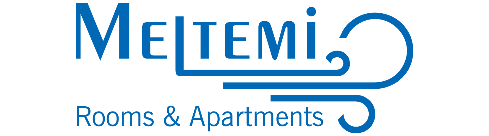 Logo of rooms and apartments Meltemi at Sifnos