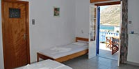 Meltemi chambres à Sifnos - Chambres triples